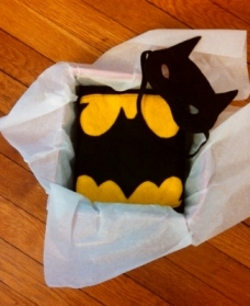 Batman Mask & Cape (4)