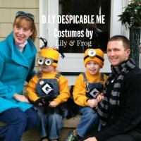 DIY Despicable Me Costumes for the Family