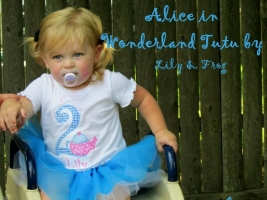 Alice In Wonderland Tutu (2)
