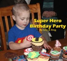 Super Hero Birthday Party (41)