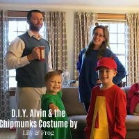 DIY Alvin & The Chipmunks Halloween Costumes for the Family